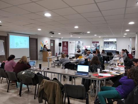 The second training course of the NGEurope
